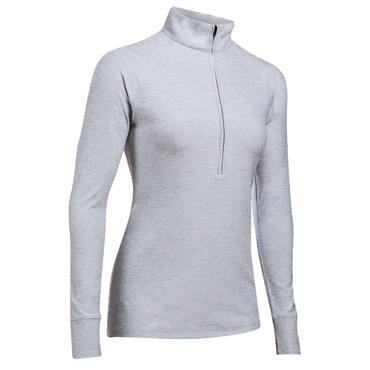 Under Armour Ladies Zinger 1/4 Zip Top Overcast Grey
