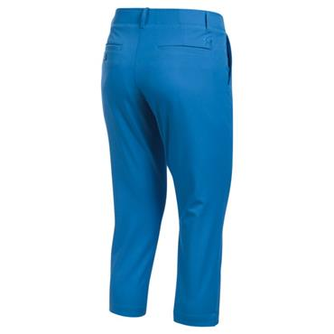 Under Armour Ladies Links Capri Trouser Blue