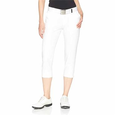 Under Armour Ladies Links Capri Trouser White