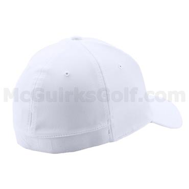 Under Armour Gents Golf Headline Cap White