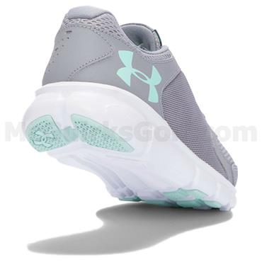 Under Armour Ladies Thrill 2 Shoes Steel - White