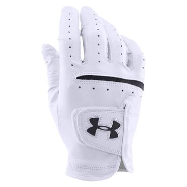 Under Armour Gents Strikeskin Tour Golf Glove Left Hand White