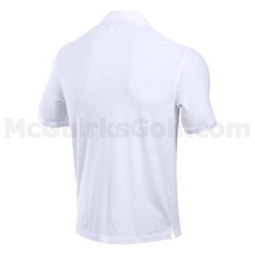 Under Armour Gents Charged Cotton Scramble Polo Shirt White