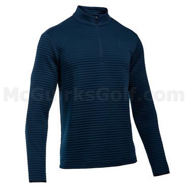 Under Armour Gents Tips Daytona 1/4 Zip Sweater Academy - Black