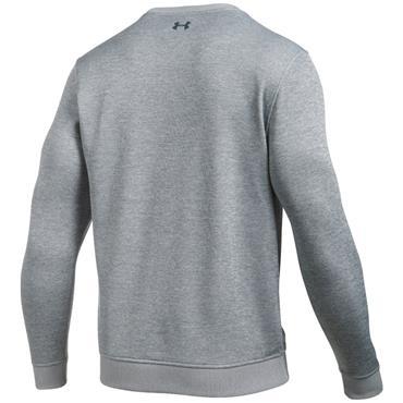 Under Armour Gents Storm SweaterFleece Crew Academy True Grey