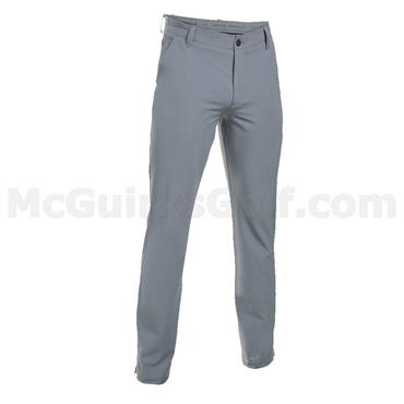 Under Armour Gents ColdGear Infrared Match Play Trousers -Tapered Leg Steel