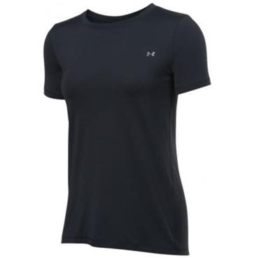 Under Armour Ladies HeatGear Short Sleeve Top Black