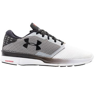 Under Armour Gents Charged Reckless Shoes White - Black