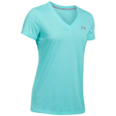 Under Armour Ladies Threadborne Train Twist Top Blue