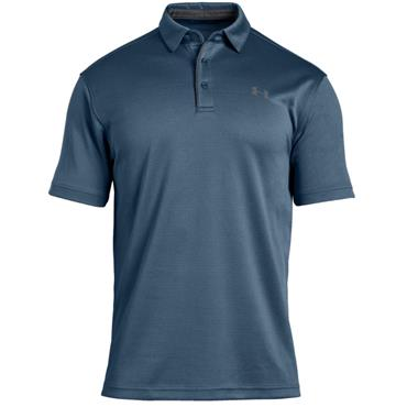 Under Armour Gents Tech Polo Shirt Blue