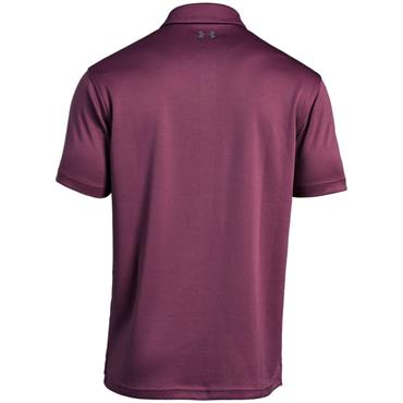 Under Armour Gents Tech Polo Shirt Cherry