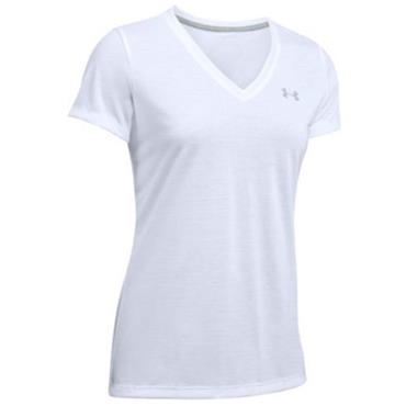 Under Armour Ladies Threadborne Train Top White