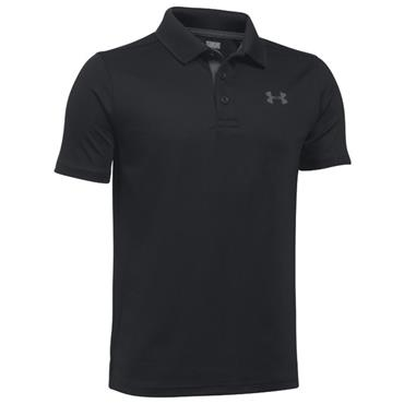 Under Armour Junior - Boys Performance Polo Shirt Black