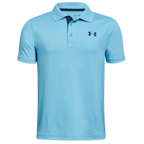 7b13cb34 Under Armour Junior - Boys Performance Polo Shirt Blue(448)