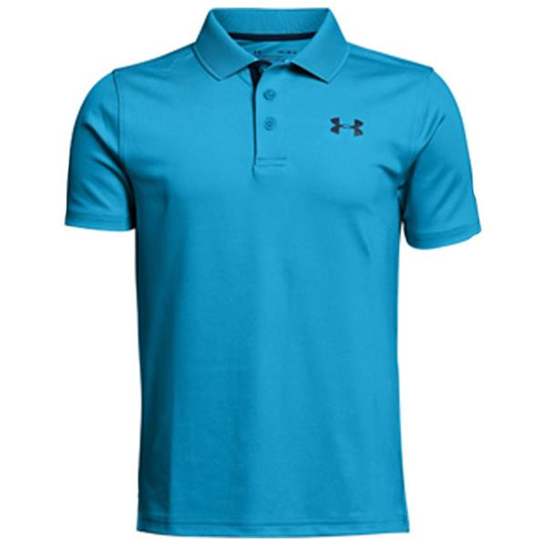 3ffed49bc Under Armour Junior - Boys Performance Polo Shirt Blue | Golf Store