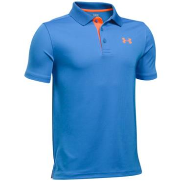 Under Armour Junior - Boys Performance Polo Shirt Mako Blue