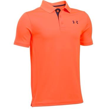 Under Armour Junior - Boys Performance Polo Shirt Orange