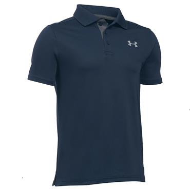Under Armour Junior - Boys Performance Polo Shirt Academy - Heather