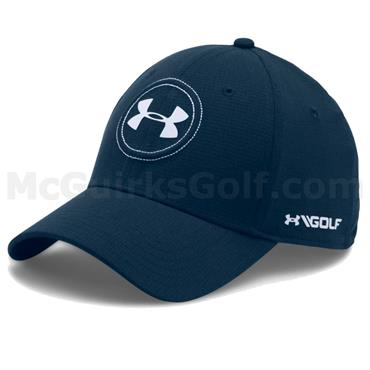 Under Armour Gents Jordan Spieth Tour Cap Academy - White