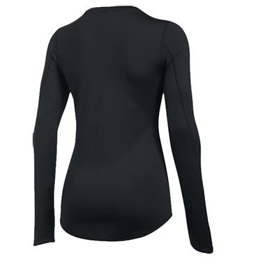 Under Armour Ladies ColdGear Armour Fitted Crew Top Black