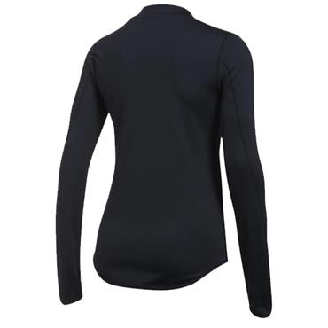Under Armour Ladies ColdGear Mock Neck Long Sleeve Shirt  Black - Silver