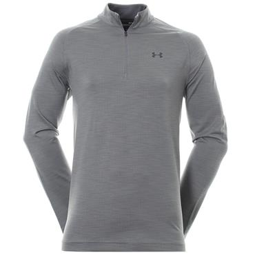 Under Armour Gents Playoff 1/4 Zip Warm-up Top Grey