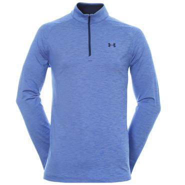 Under Armour Gents Playoff 1/4 Zip Warm-up Top Royal