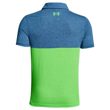 Under Armour Junior - Boys Threadborne Blocked Polo Shirt Moroccan