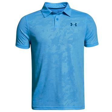Under Armour Junior - Boys Threadborne Polo Shirt Blue