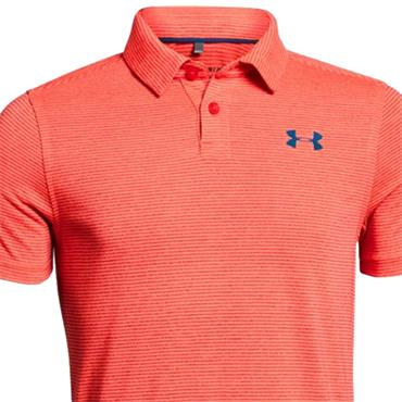Under Armour Junior - Boys Threadborne Polo Shirt Orange (985)
