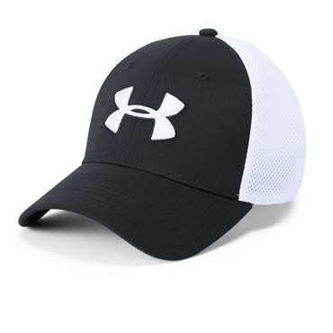 Under Armour Gents Microthread Mesh Cap Black 001