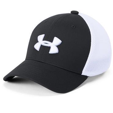 Under Armour Junior Microthread Golf Mesh Cap Black