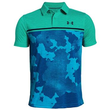 Under Armour Junior - Boys Engineered Polo Shirt Green