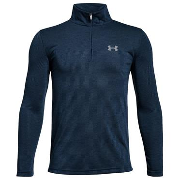 Under Armour Junior-  Boys 1/4 Zip Top Academy