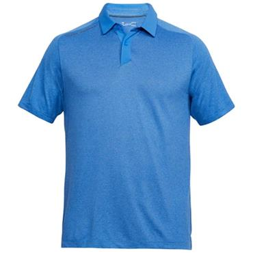 Under Armour Gents Threadborne Polo Shirt Blue