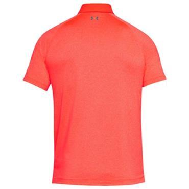 Under Armour Gents Threadborne Polo Shirt Orange