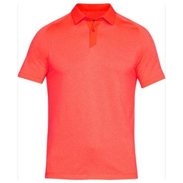 c6d81367d3 Under Armour Gents Threadborne Polo Shirt Orange ...