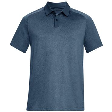 Under Armour Gents Threadborne Polo Shirt Grey (414)