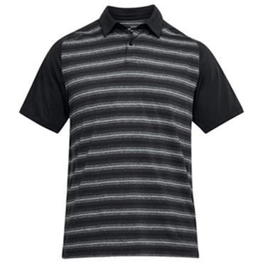 f7f509695c Under Armour Gents Threadborne Boundless Polo Shirt Black ...