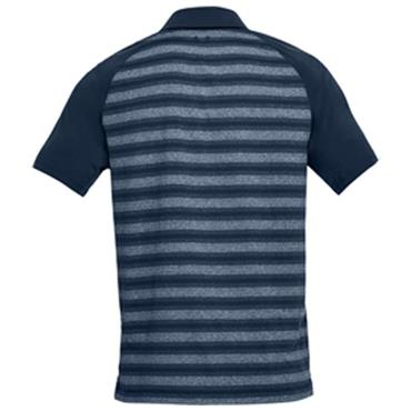 Under Armour Gents Threadborne Boundless Polo Shirt Navy
