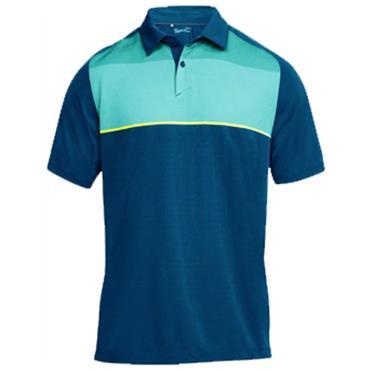 Under Armour Gents Threadborne Infinite Polo Shirt Blue