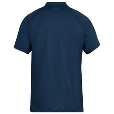 Under Armour Gents Threadborne SpringBack Polo Shirt Navy