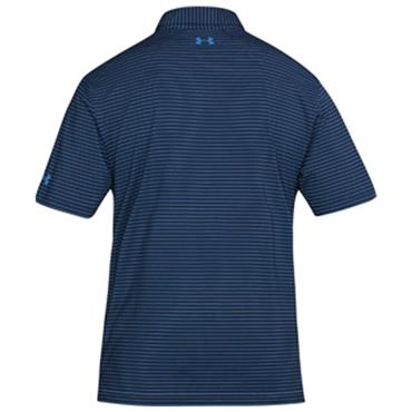 Under Armour Gents Stripe Playoff Polo Shirt Academy
