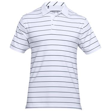 Under Armour Gents Playoff Polo Shirt White - Academy