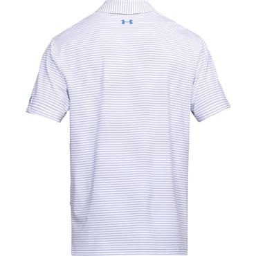 Under Armour Gents Stripe Playoff Polo Shirt White