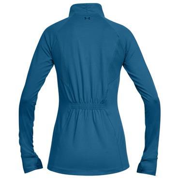 Under Armour Ladies Full Zip Zinger Top Blue
