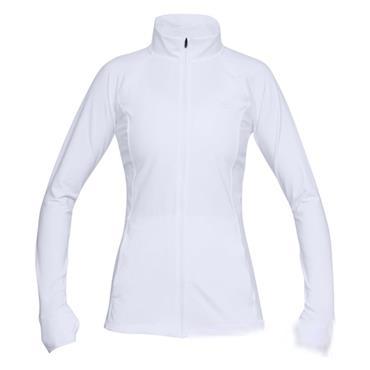 Under Armour Ladies Full Zip Zinger Top White