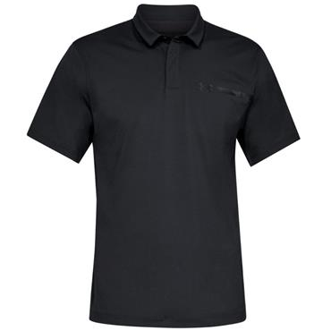 Under Armour Gents Perpetual Polo Shirt Black