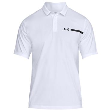 Under Armour Gents Perpetual Polo Shirt White