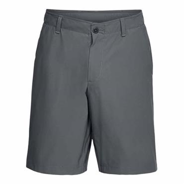 Under Armour Gents Microthread Golf Shorts Grey